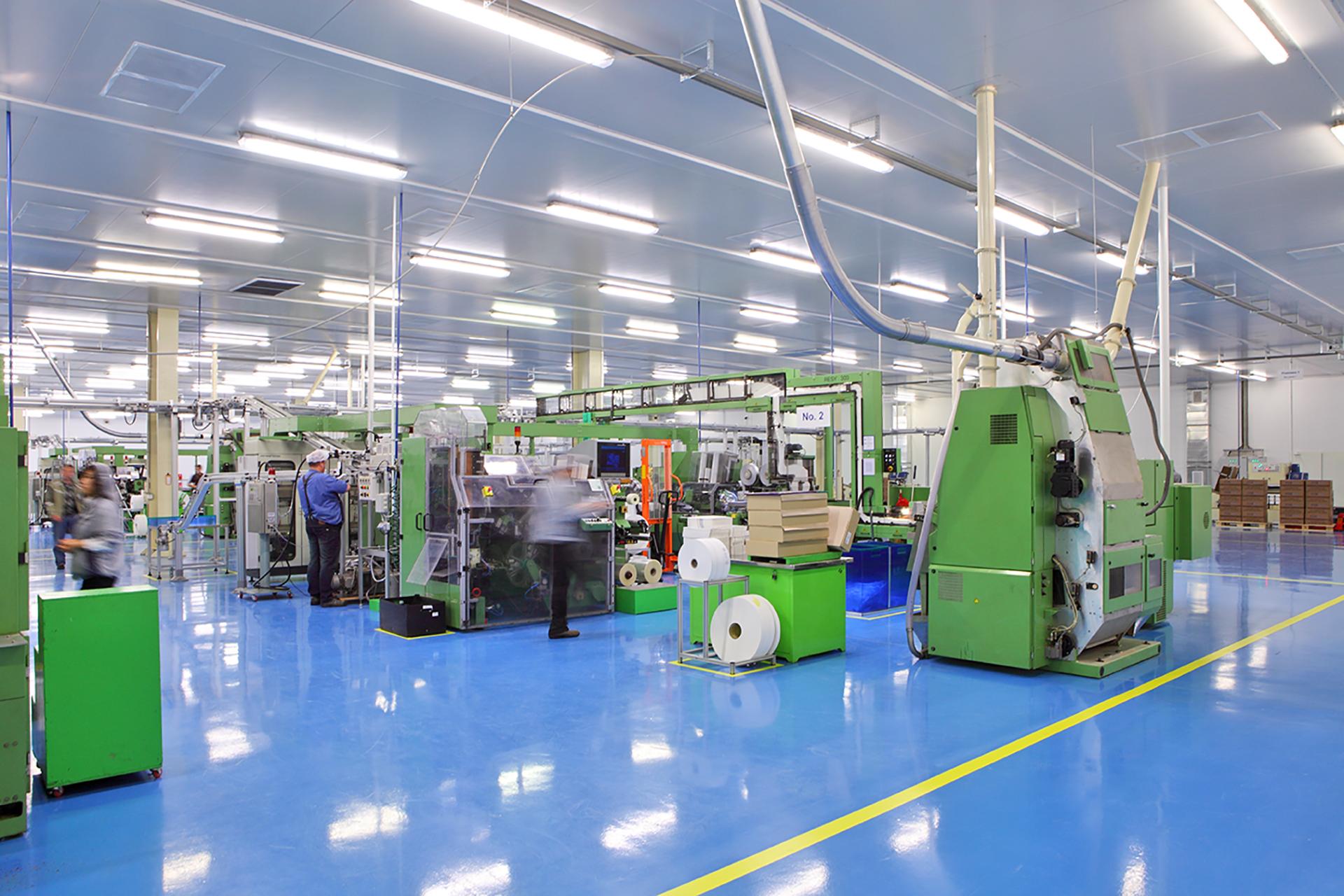 Leak Detection in Factory Floors