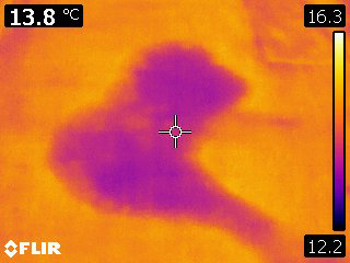 Infra Red Thermography - Leak Detection