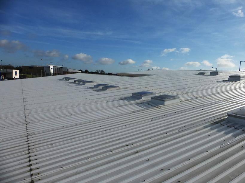 Sheet Metal Roofs Leak Detection