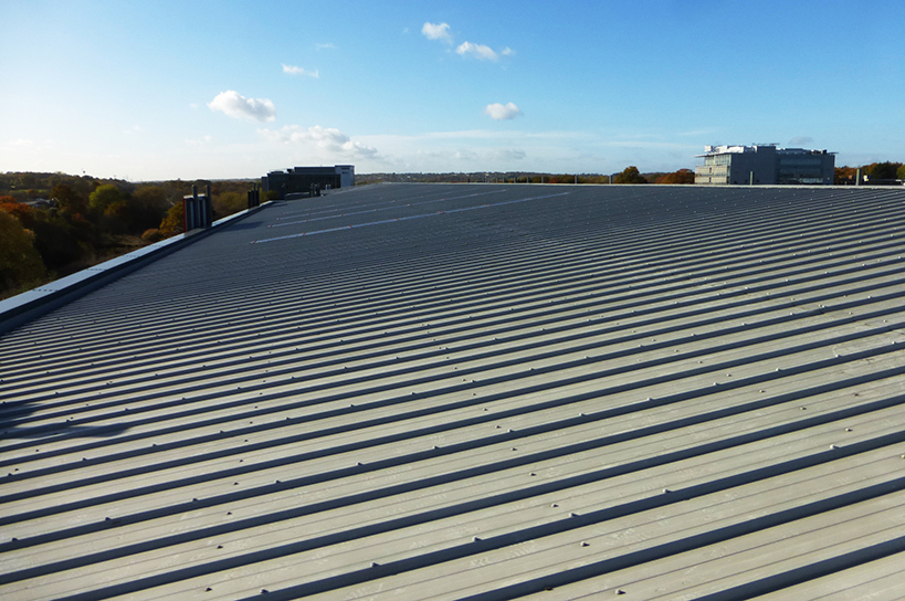 Sheet Metal Roofs Leak Detection